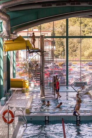 hala basenowa - Centrum Kultury i Sportu