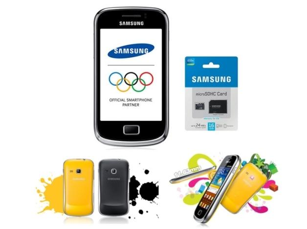 SAMSUNG S6500 MINI2 + Karta micro SD 16GB