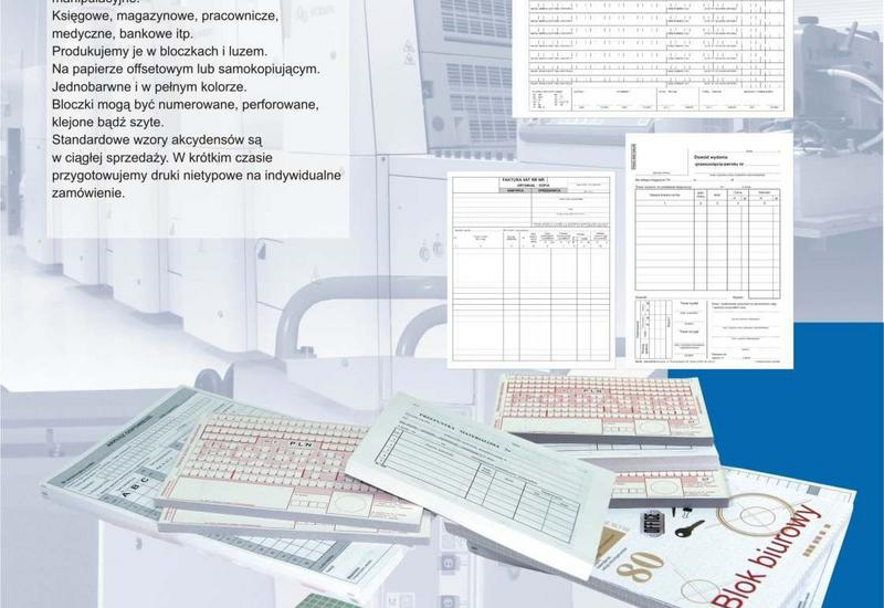 druki dla uczelni wyższych - Intro-Druk. Pracownia Pol... zdjęcie 2
