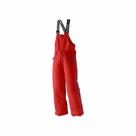 """Dobrze ocieplone spodnie z szelkami i detalami wykończenia inspirowanymi stylem """"race"""". Dedykowane dla narciarzy lubiących wyzwania"""