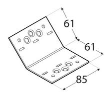 SDKLR1 / 61x61x85x2,5 /