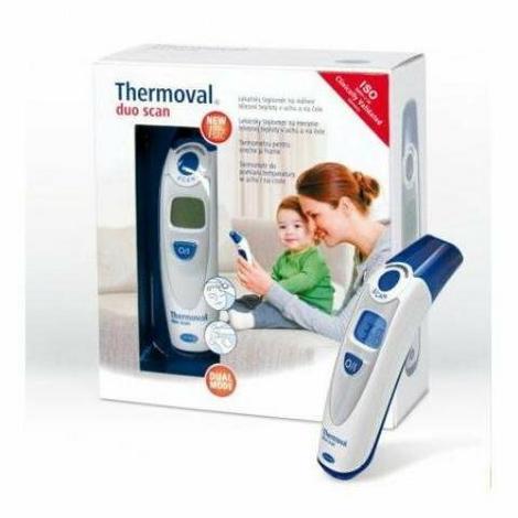 Termometr elektroniczny DuoScan