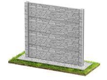 Ogrodzenia betonowe dwustronne