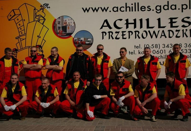 taxi bagażowe - Achilles Przeprowadzki Kr... zdjęcie 3