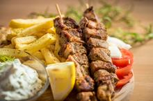 Oryginalny grecki street food