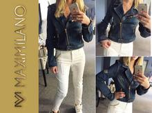 NEW MADE IN ITALY jeansowa ramoneska DSQ Dsquared2
