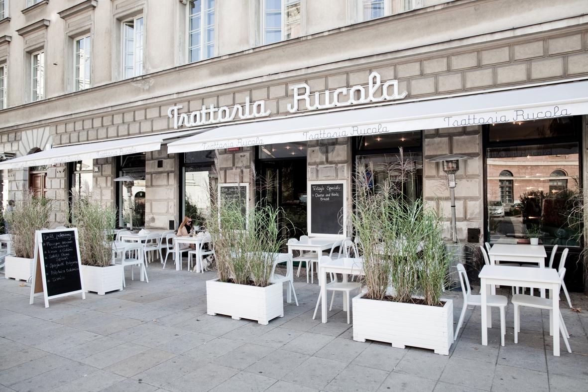 Trattoria Rucola Włoska Kuchnia Domowa Pizza Na Cienkim