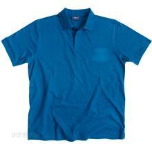 Duża Koszulka Polo z kieszonką Espionage - Niebieska/Purpurowa