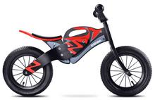 Rowerek Biegowy Toyz Enduro - Black/Red