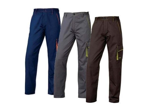 Spodnie robocze z Panostyleru (R) z  Poliestru i  Bawełny