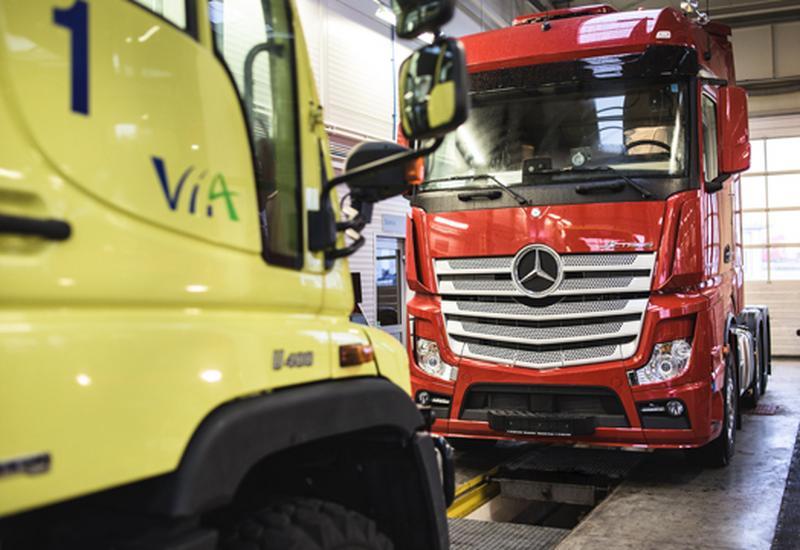 canter fuso serwis samochodów ciężarowych ciężarówki mercedes benz - Mercedes-Benz Sosnowiec T... zdjęcie 4