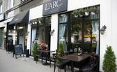 Restauracja L'arc Varsovie. Obiady, przystawki, desery