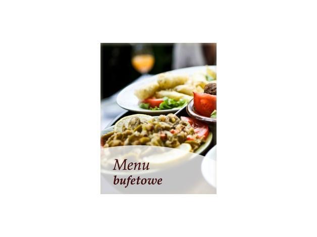 W cenie zawarte jest menu podstawowe, obsługa, dekoracja stołów i pojemniczki do zapakowania pozostałej żywności.
