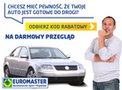 Euromaster OLKOWICZ Mińsk Mazowiecki - wymiana opon, oleju, serwis klimatyzacji, mechanik samochodowy