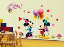 Naklejki na ścianę Myszka Mickey