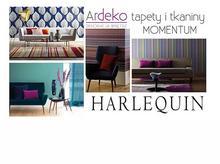 Tkaniny i tapety Harlequin Momentum i inne