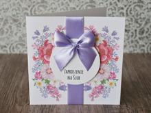 Zaproszenie na Ślub Power Flower