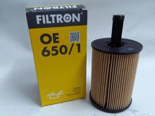 FILTR OLEJU SEAT SKODA VW FILTRON OE650/1