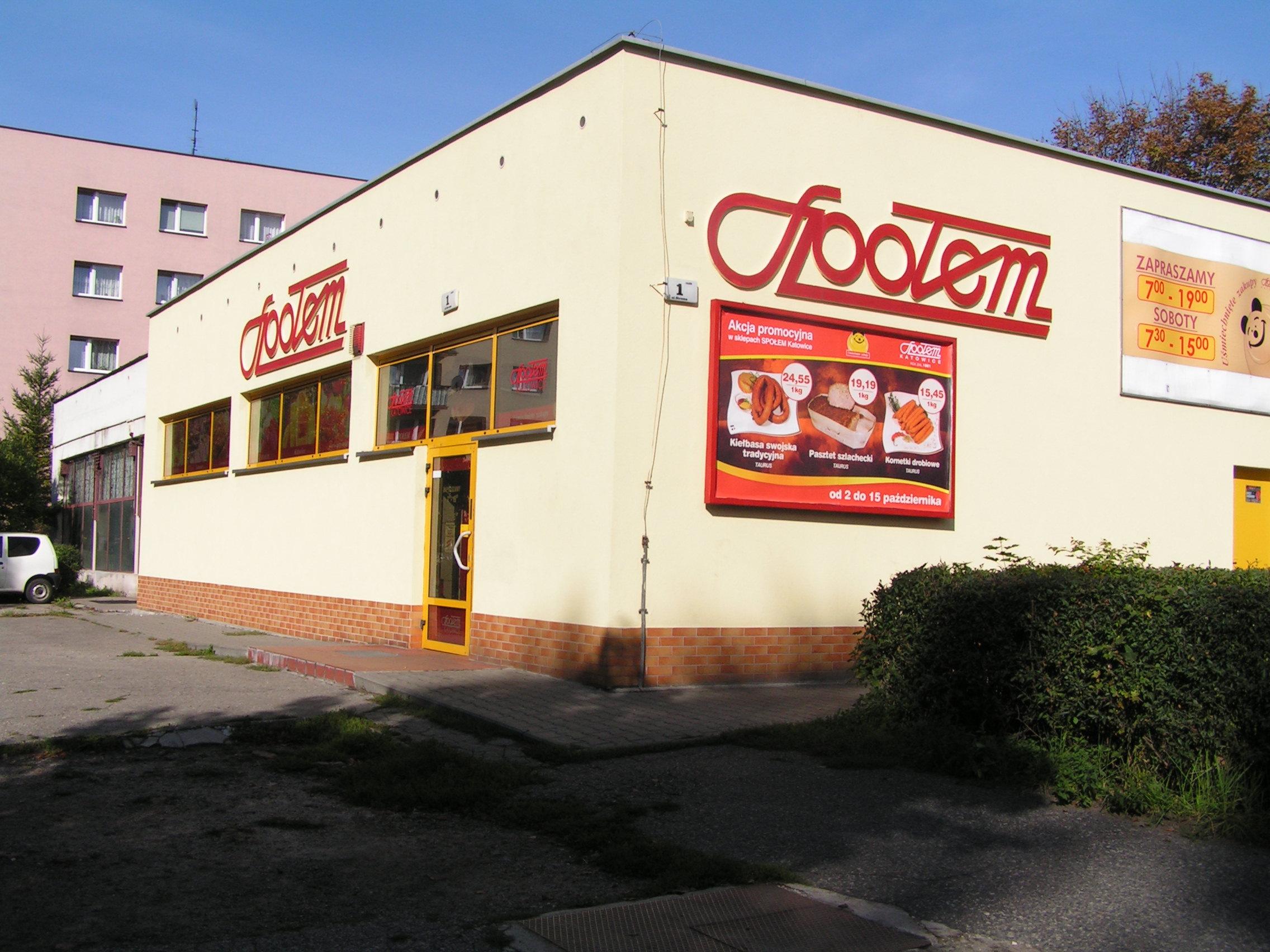 12cc4f2b135d1 Społem Powszechna Spółdzielnia Spożywców Katowice Sklep 04-03, Katowice -  Mapa Polski w Zumi.pl
