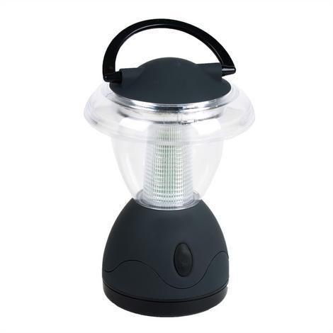 Bardzo wydajna i praktyczna lampka kempingowa zasilana na baterie. 6 mocnych diód LED.