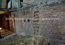 Naprawy konstrukcji budowlanych