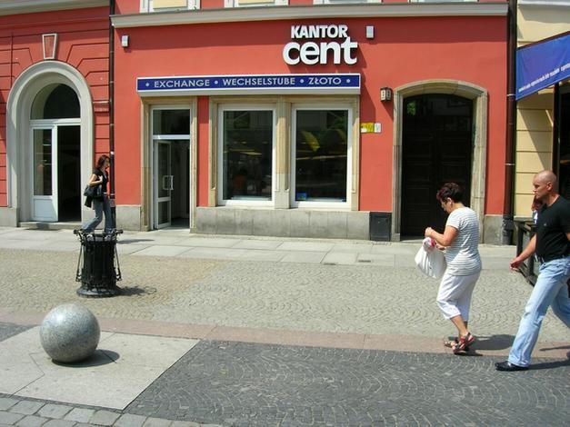 kurs franka szwajcarskiego - Kantor Wymiany Walut Cent zdjęcie 2