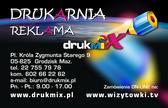 Drukmix Daniel Czarnecki. Wizytówki, reklama 602 66 22 62