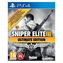 Techland Sniper Elite III Ultimate Edition PS4 PL DARMOWA DOSTAWA DO 400 SALONÓW !!