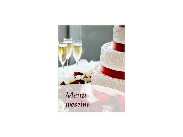 Obiady weselne i krótkie przyjęcia - cena ustalana jest indywidualnie.