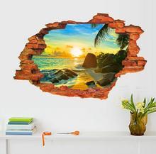 Naklejki na ścianę Widok 3D