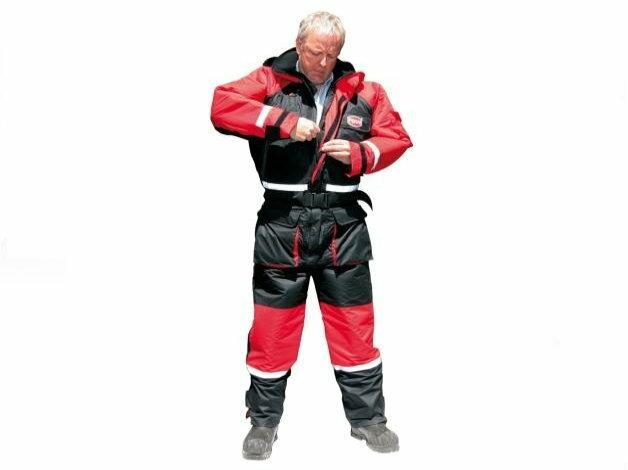 Penn Floation SuitDwucześciowy kombinezon wypornościowy amerykańskiej marki Penn. Ciepły i bezpieczny, idealny na połowy z łodzi i lodu