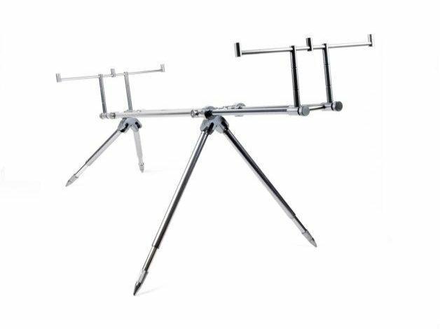 Mocowanie nóg oraz podwójna rama tworzą bardzo stabilną konstrukcję. Model  wykonany w pełni z aluminium.
