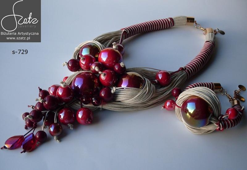 komplety biżuterii - Szatz. Biżuteria artystyc... zdjęcie 3
