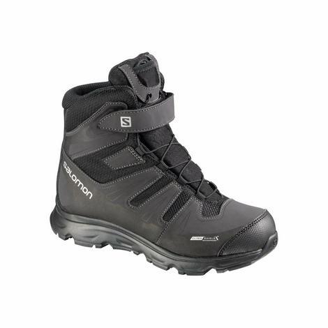 Membrana Climashield oraz ocieplina Thinsulate sprawiają, że ten model zimowych butów sprawdza się w głębokim śniegu i podczas spacerów