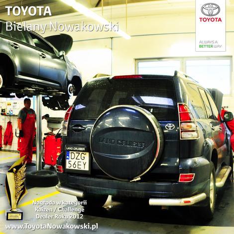 serwis toyota - Toyota Bielany Nowakowski zdjęcie 8