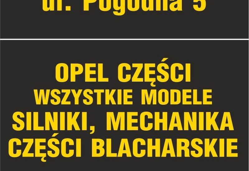 Autoinfopl - Opel części Krosno k. Mos... zdjęcie 1