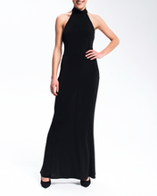 Sukienka czerowna wiązana na szyję