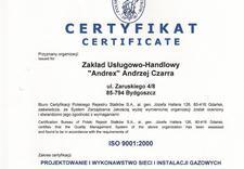 naprawa instalacji gazowych - Zakład Usługowo-Handlowy ... zdjęcie 1