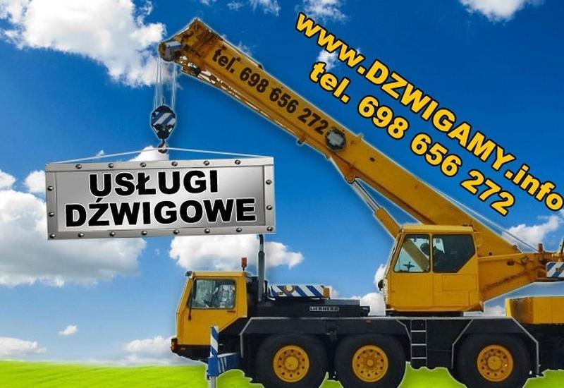 usługi dźwigowe - Usługi dźwigowe Michał Ja... zdjęcie 1