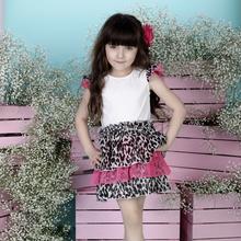 Sukienka dla dziewczynki w panterkę