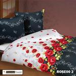Komplet pościeli ROSE00-2 200x220 3-częściowy