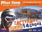 Małe Ciche Stacja Narciarska. Wypożyczalnia sprzętu narciarskiego, stok narciarski