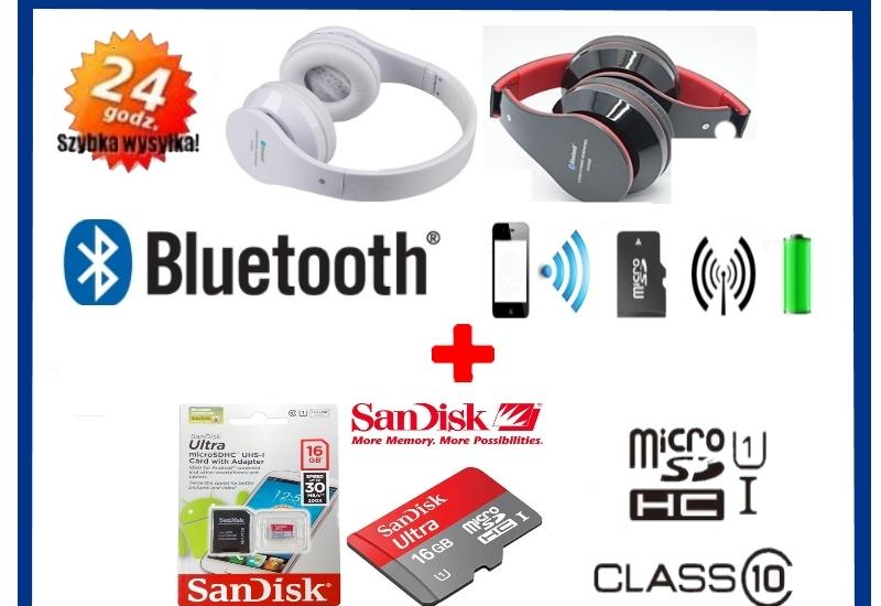 słuchawki, karty pamięci, elektronika