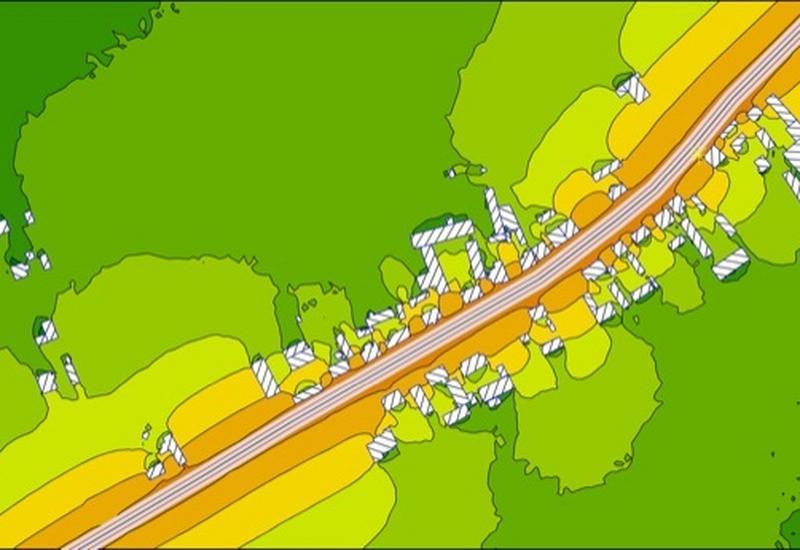 plany akustyczne obszarów - AQS. Pomiar hałasu, pomia... zdjęcie 1