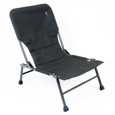 Wytrzymałe krzesło wędkarskie z aluminiowym stelażem i mocnym, szybkoschnącym materiałem