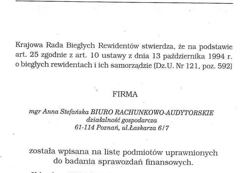 doradztwo księgowe - Biuro Rachunkowo - Audyto... zdjęcie 3