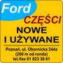 FORD części nowe i używane - Auto Gorzan Ryszard Gorzan