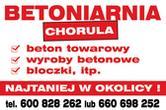 Betoniarnia Chorula, beton, bloczki betonowe, kruszywa