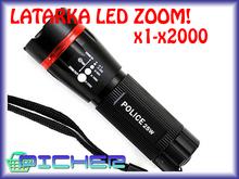 Y33 LATARKA VIZION LED CREE SZPERACZ 130M ZOOM CE