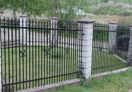 ogrodzenie kute - AAR PW Szczęsne - ogrodze... zdjęcie 3